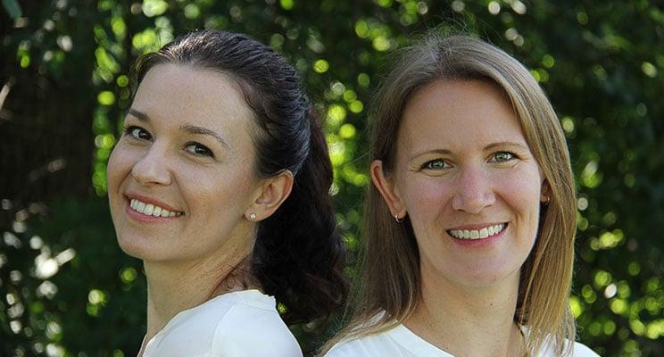 headshot of Drs. Majewska and Dobney